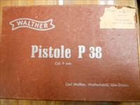 Walther P38, Perfect, W/ BOX