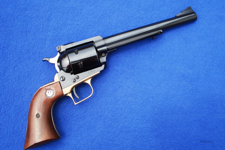 Ruger Old Model Super Blackhawk w/ Brass Grip Frame 3 Screw