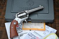 Rare Ruger Single Six Bisley 22 Stainless 4 5/8