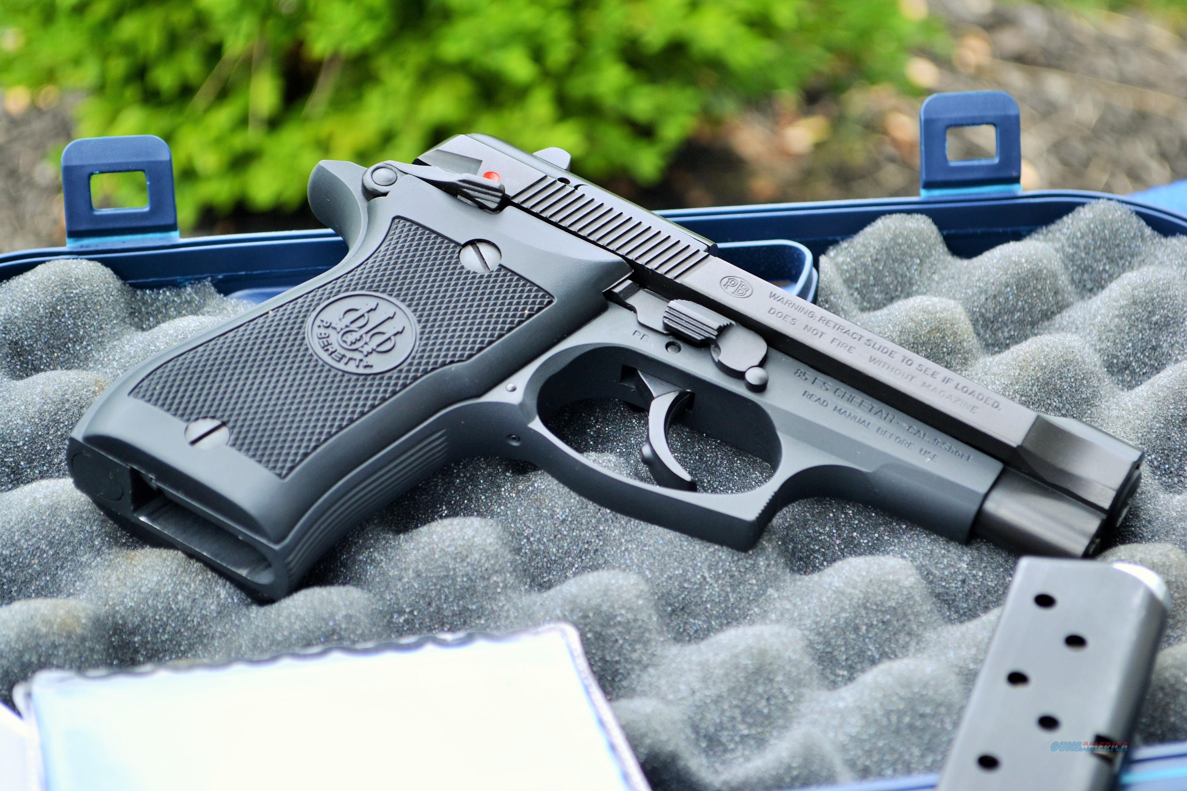 LNIB Beretta 85FS Cheetah 85 FS 380 Case, Papers