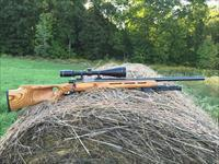 Howa 1500 (Weatherby Vanguard) Custom Varmint in 20 Tactical, Thumbhole stock and scope