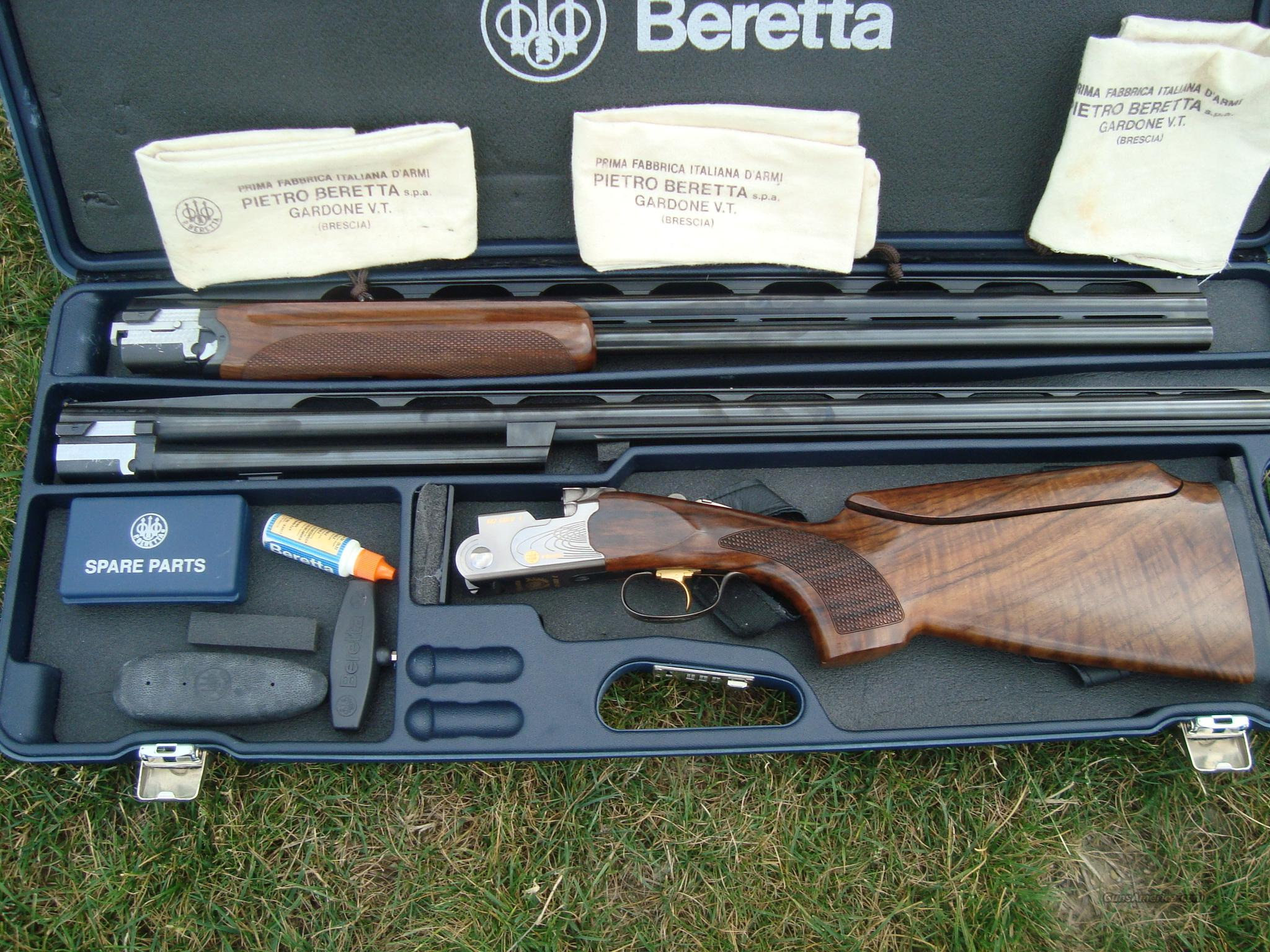 Beretta 682 Gold E Trap Combo 30 34 Guns Shotguns