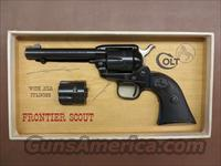 Colt Single Action Frontier Scout Dual Cylinder