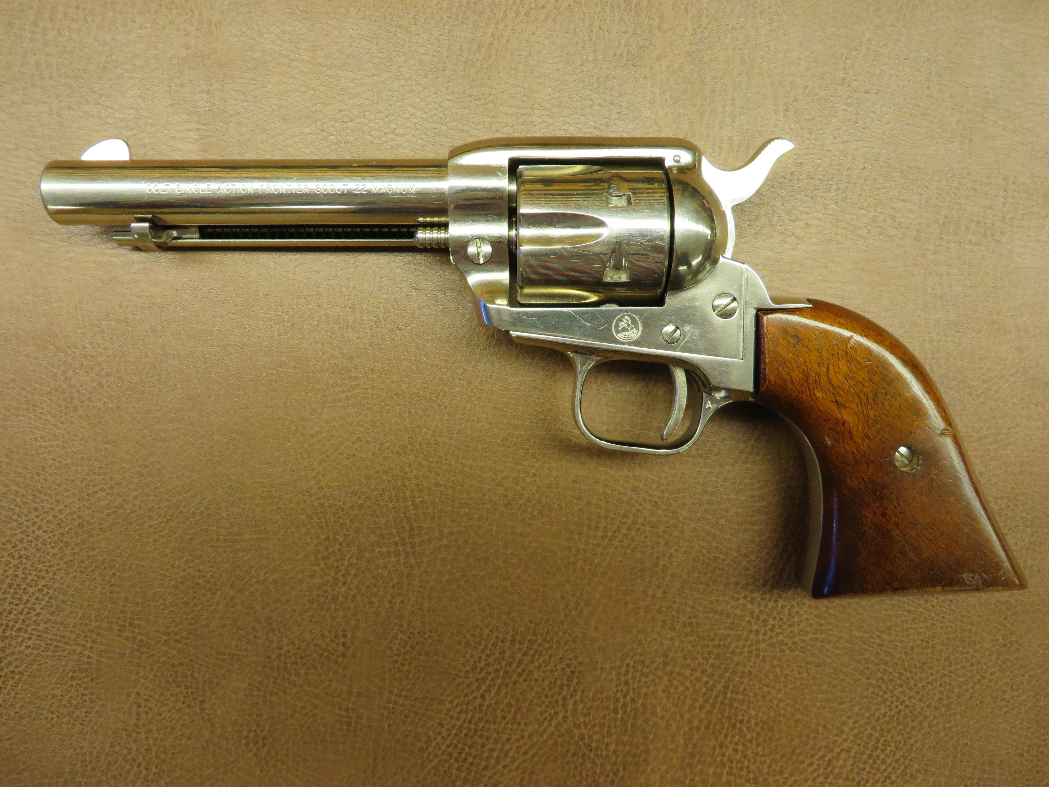 the colt revolver The colt buntline special is a long-barreled variant of the colt single action army revolver, which stuart n lake described in his best-selling but largely.
