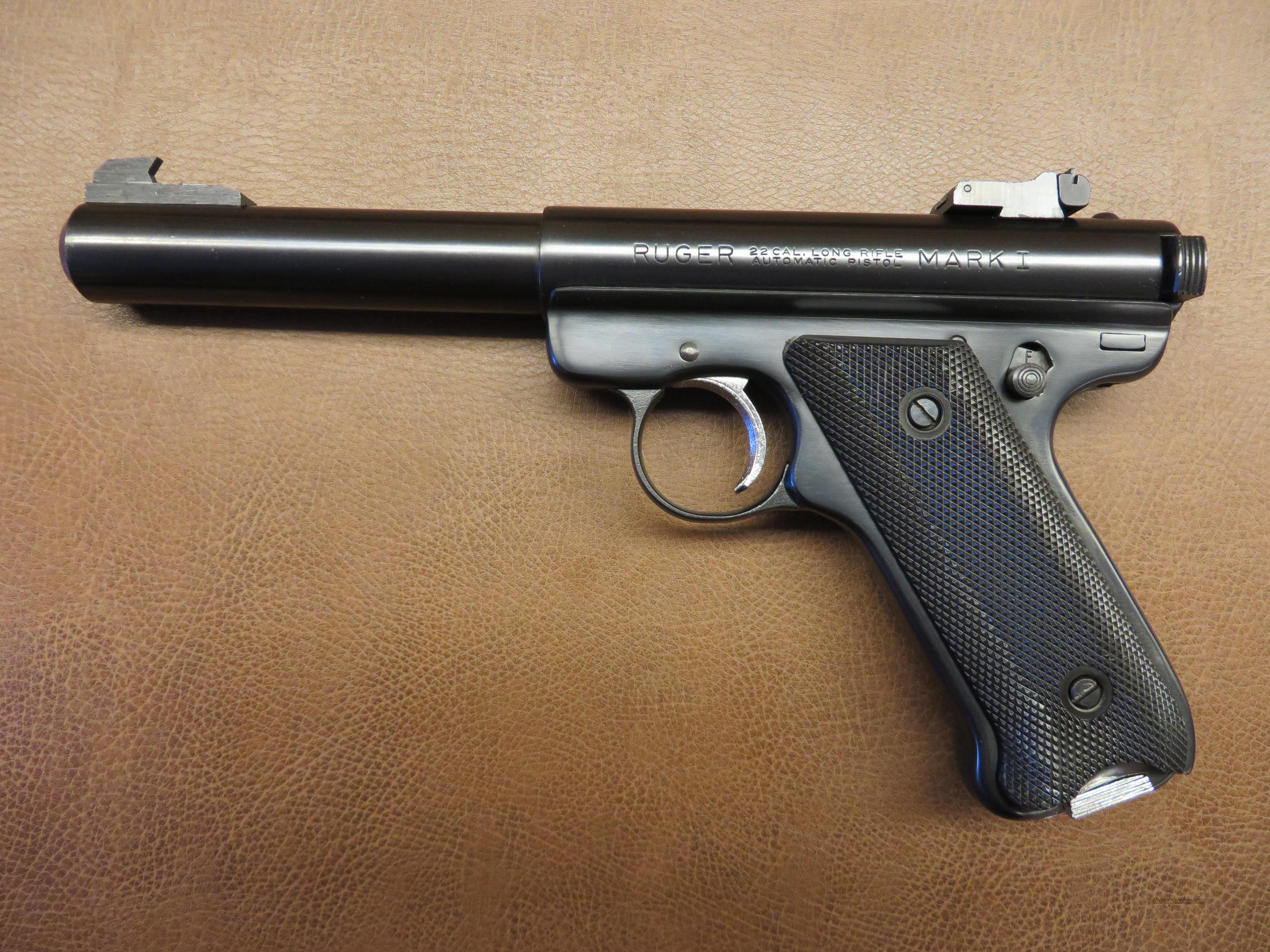 ARMSLIST - For Sale/Trade: Ruger Mark 1 .22 Target Pistol with red ...