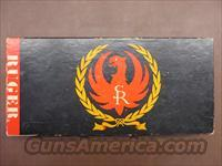 Ruger Single Six RSSM Box