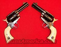 Ruger Old Model Vaquero Sheriffs Model Consecutive Numbered Pair