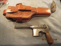 C96 broomhandle Mauser with repo stock and harness