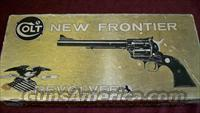 2nd GEN COLT NEW FRONTIER BOXED .45