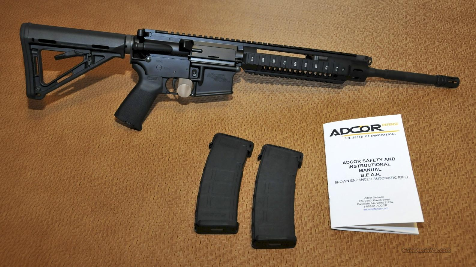 Adcor and the Demise of the Improved Carbine Competition