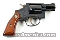 SMITH&WESSON M-36 C ENGRAVED 38 SPECIAL
