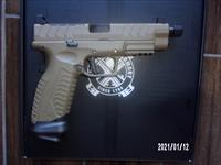 Springfield XDM Elite 9MM treaded FDE NIB