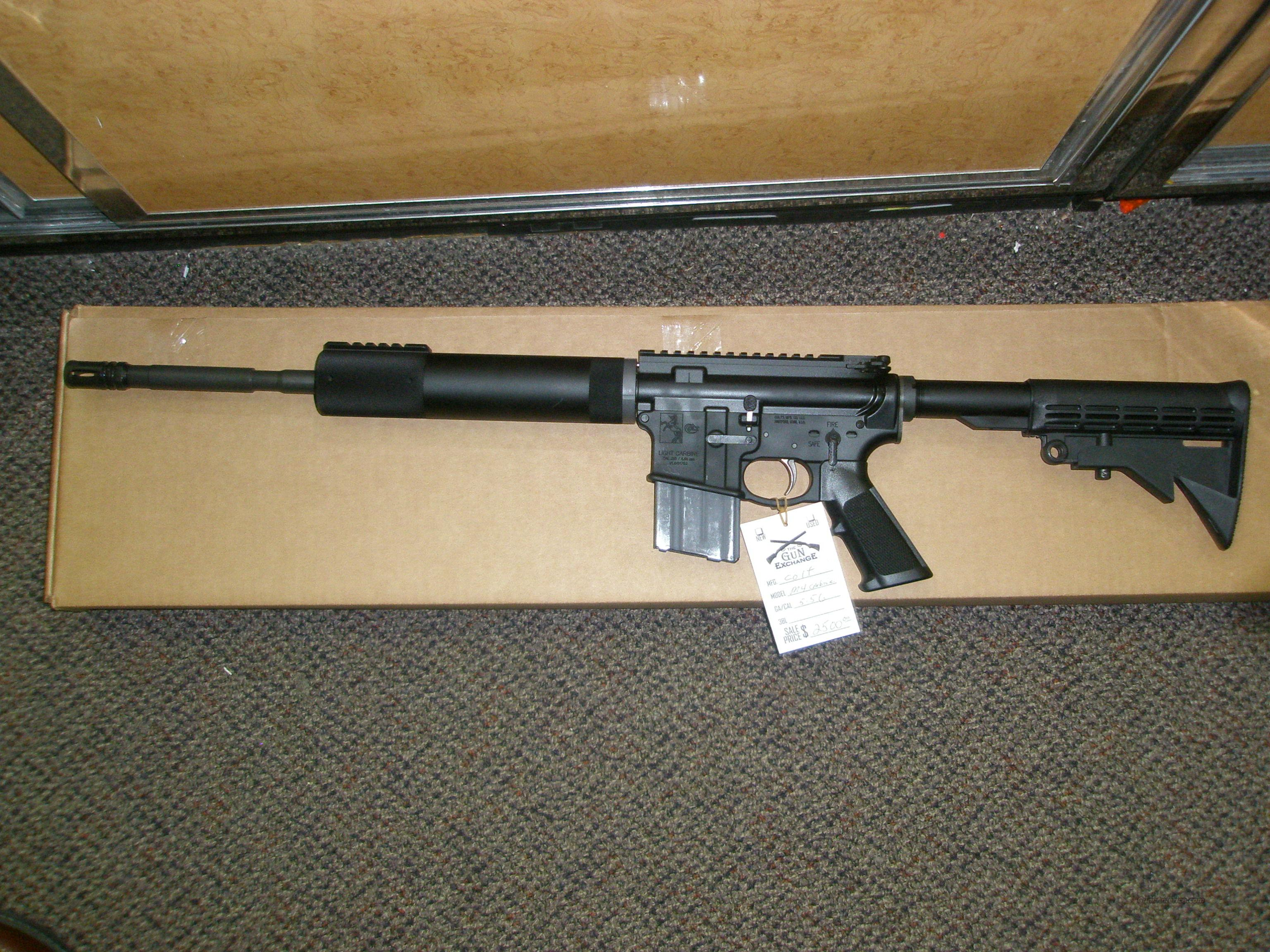 Colt Le6900 556 M4 Lightweight Carbine Nib For Sale