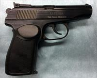 VERY NICE MAKAROV 9x18 PISTOL, ADJUSTABLE SIGHTS, MADE IN RUSSIA