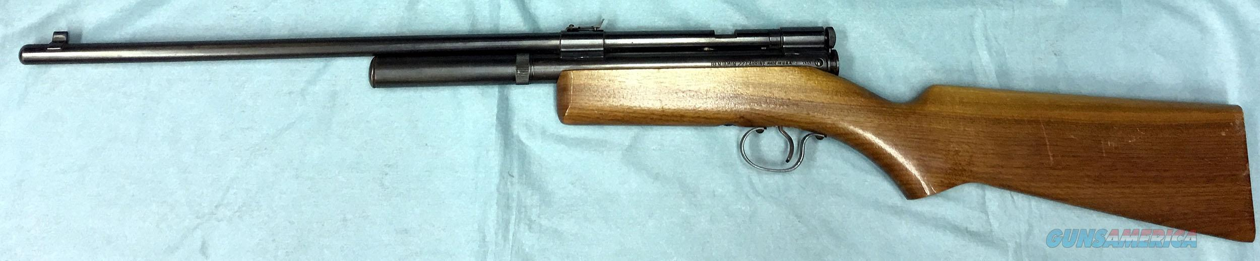 VINTAGE BENJAMIN AIR RIFLE - MODEL 352 -  22