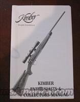 KIMBER COLLECTORS MANUAL