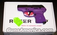 "Ruger LCP ""PURPLE"" .380"