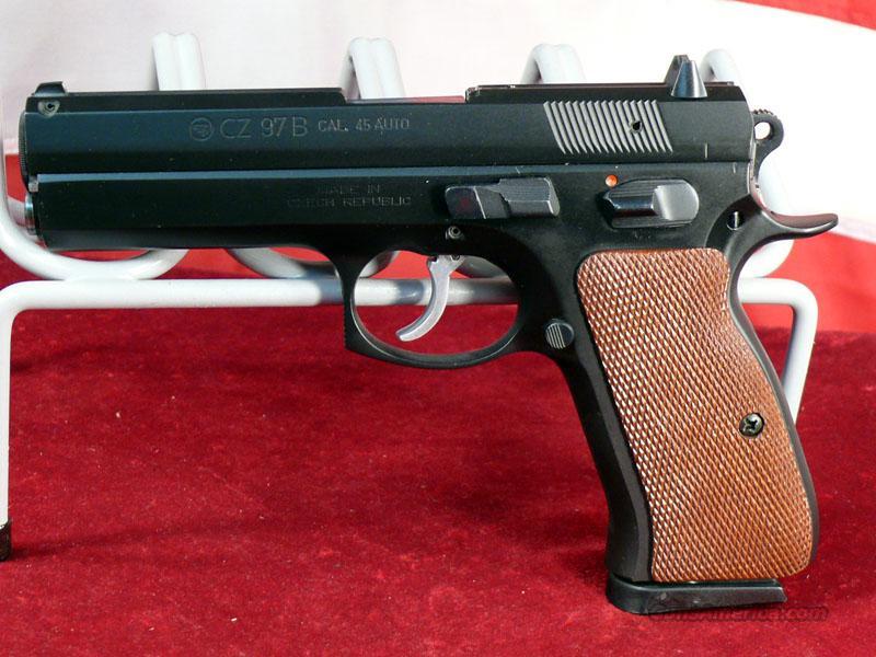 CZ 97B 45ACP DA/SA Semi-Auto Pistol-Used-20457