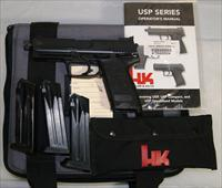 Heckler & Koch USP Tactical .45 Threaded Barrel with 3 Mags and Case