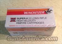Winchester 22 Long-Rifle AMMO ( SUPER-X ) 500 Rd Brick
