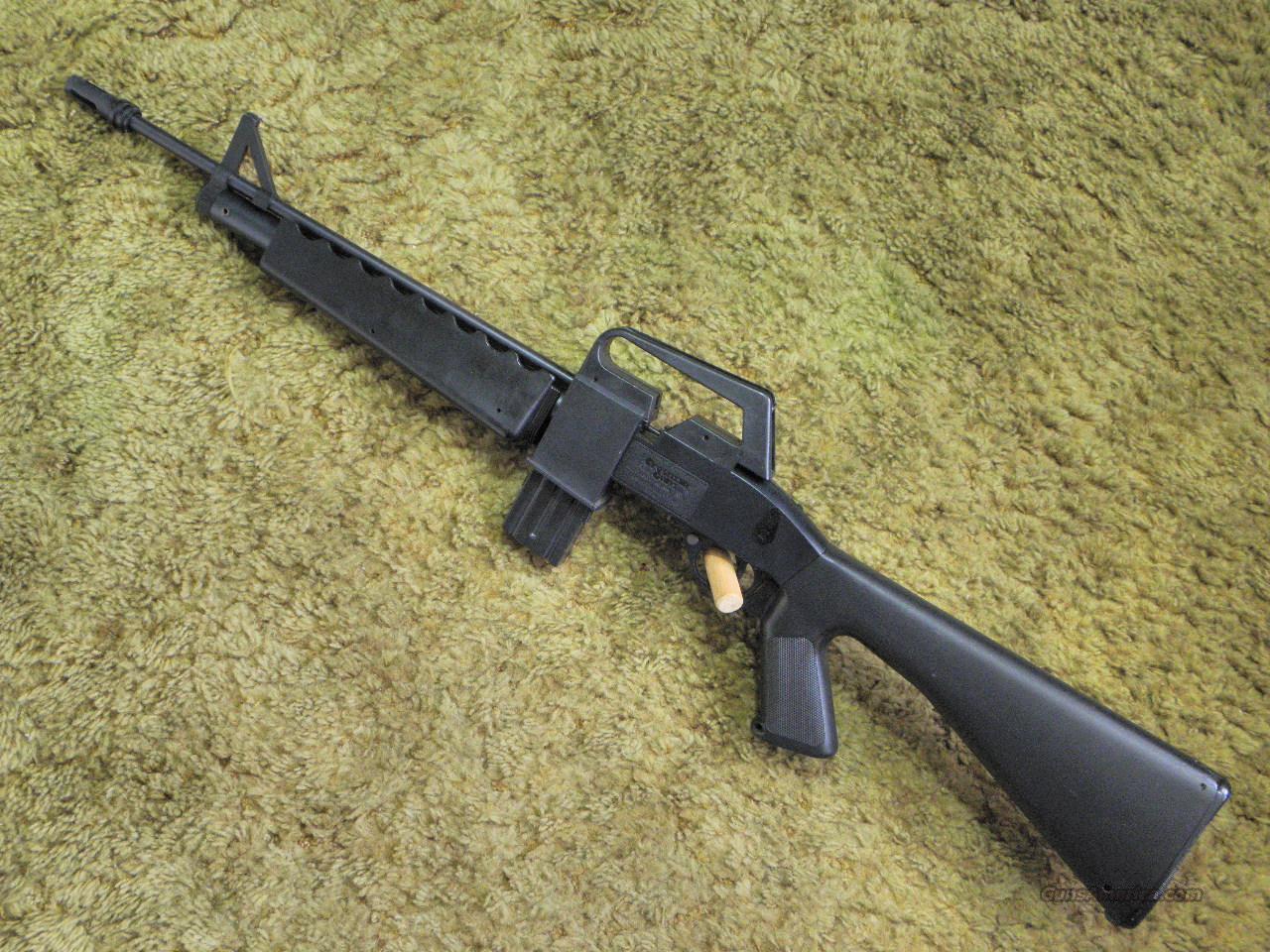 1980s Vintage Crosman AIR-17 Pellet BB Rifle AR-15 M-16
