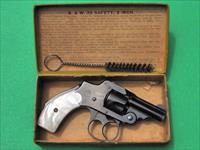 Antique Smith & Wesson S&W 32 Bicycle Revolver in Box