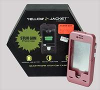 Yellow Jacket Stun Gun Case for Iphone 4s & 4 in Pink