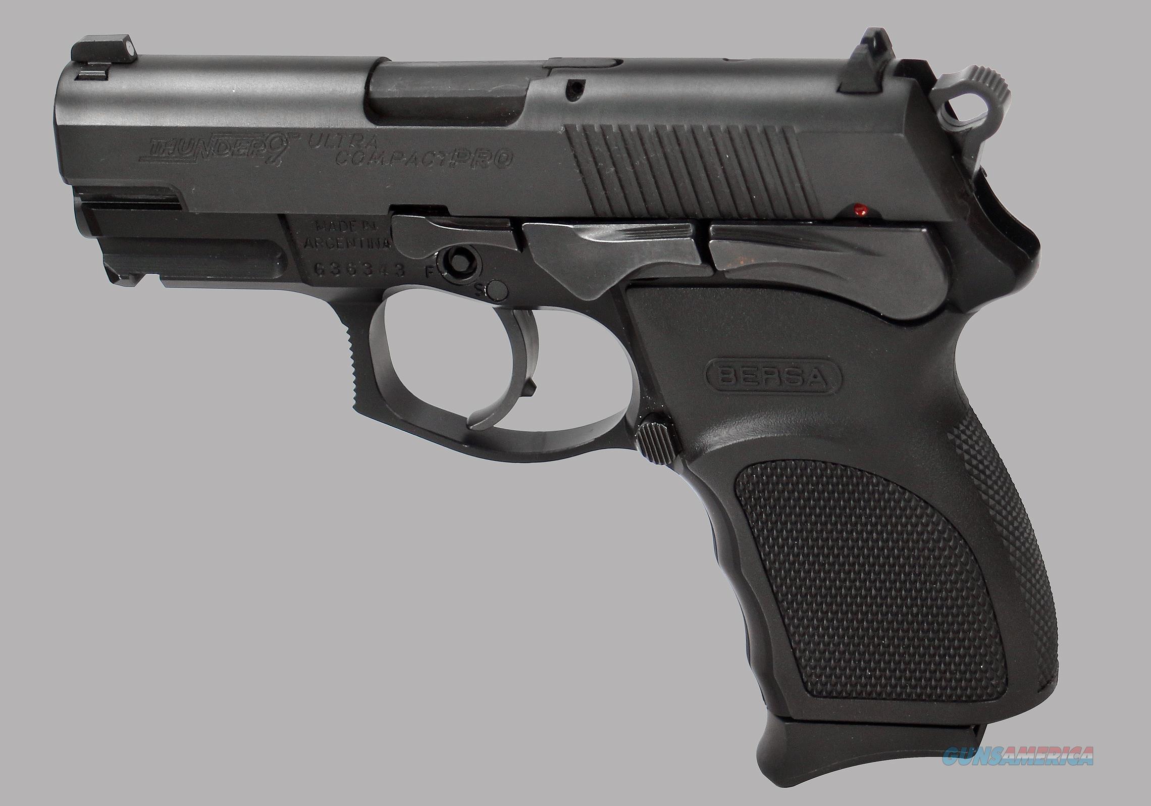 Bersa/R S A  9mm Thunder 9 Ultra Compact Pro Pistol