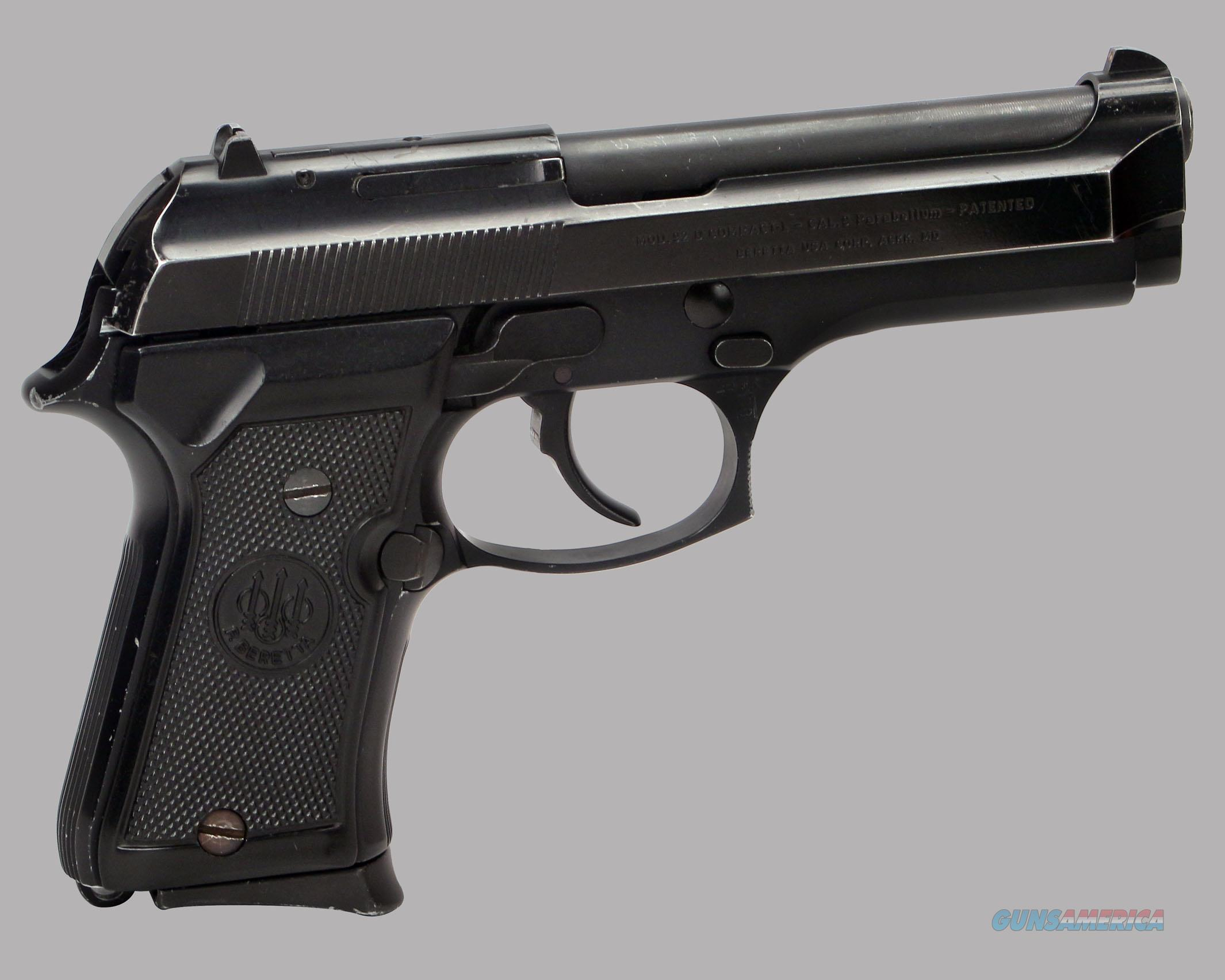Beretta 9mm 92D Compact L Pistol for sale
