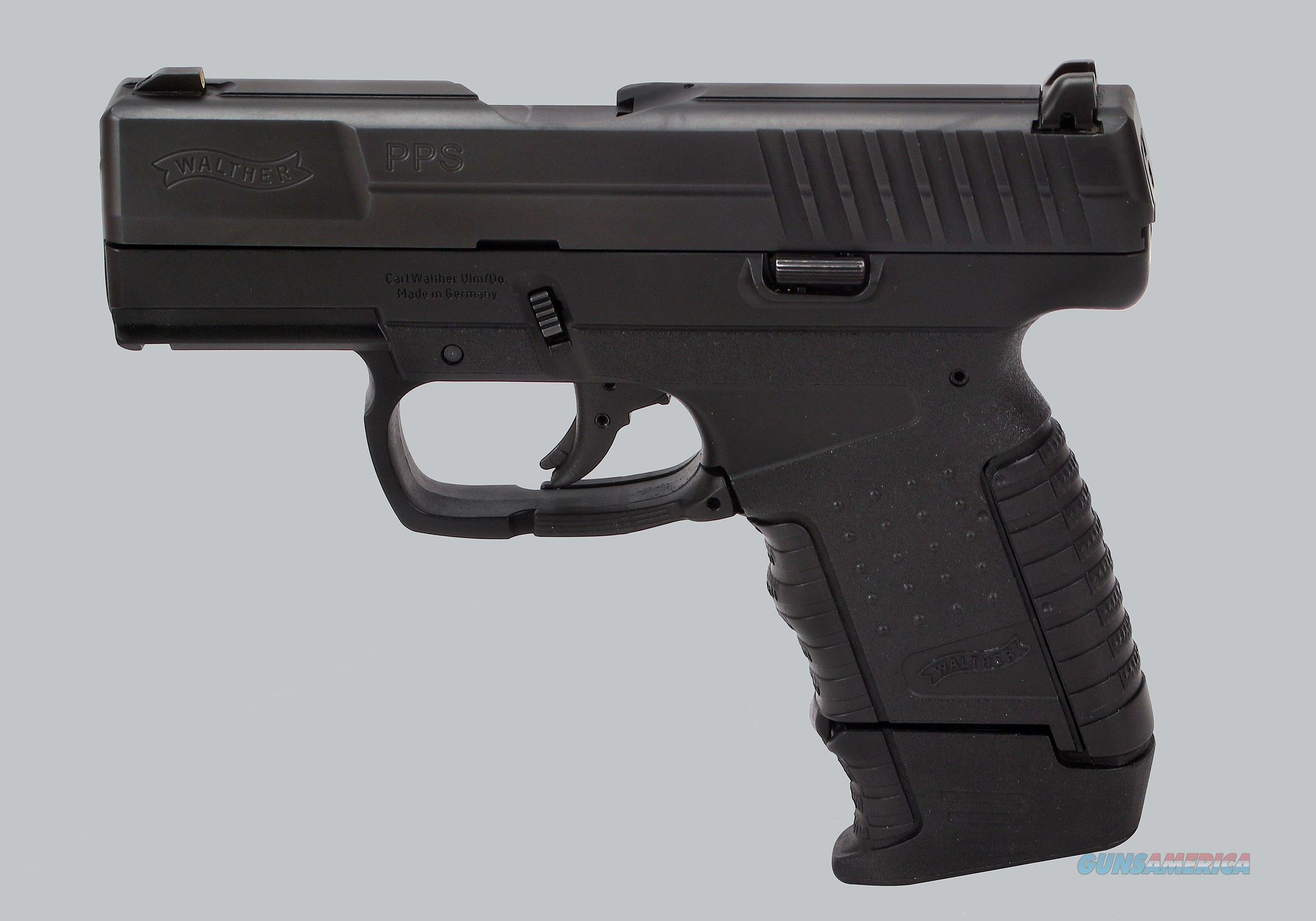 Walther 40 cal S&W PPS Pistol for sale