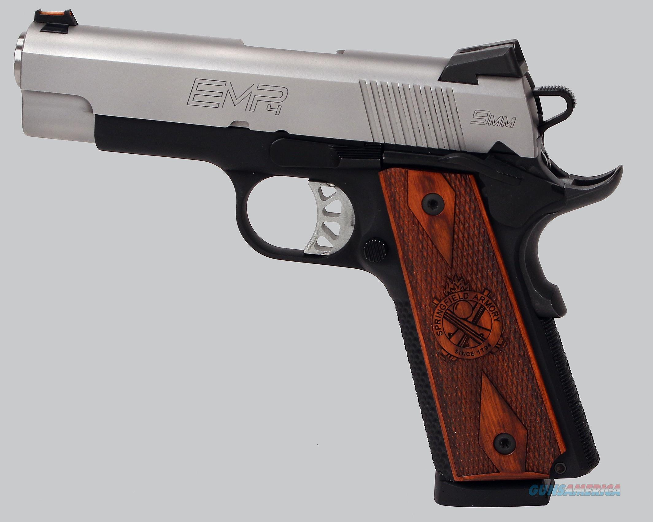 Springfield Armory 9mm EMP 4 Pistol
