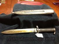Swedish 1896 lungeman bayonet