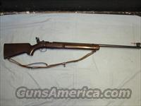 Winchester Model 75 target rifle 22