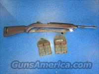 US M1 carbine .30 cal rifle inland w/4 magazines