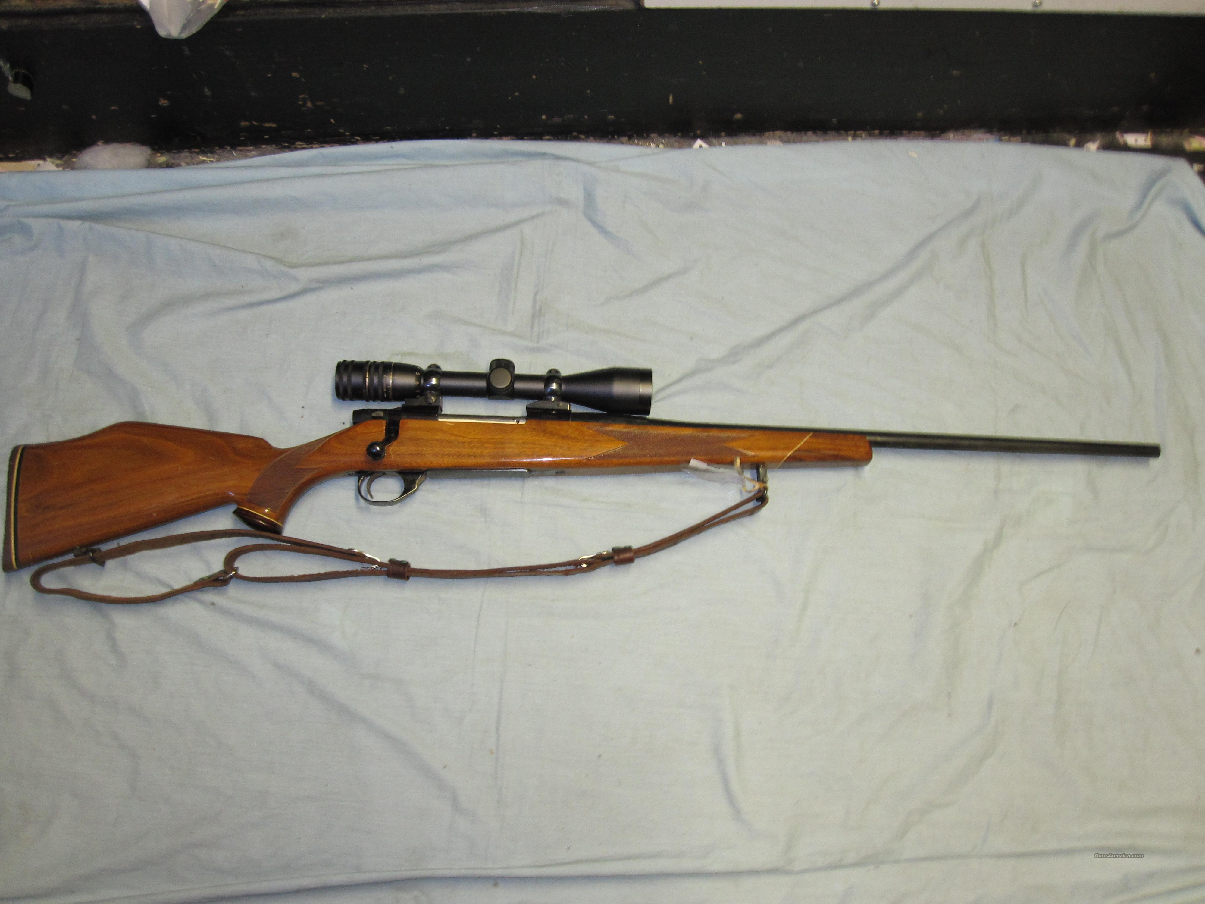 weatherby Vanguard rifle 30.06 cal w/wood monte... for sale