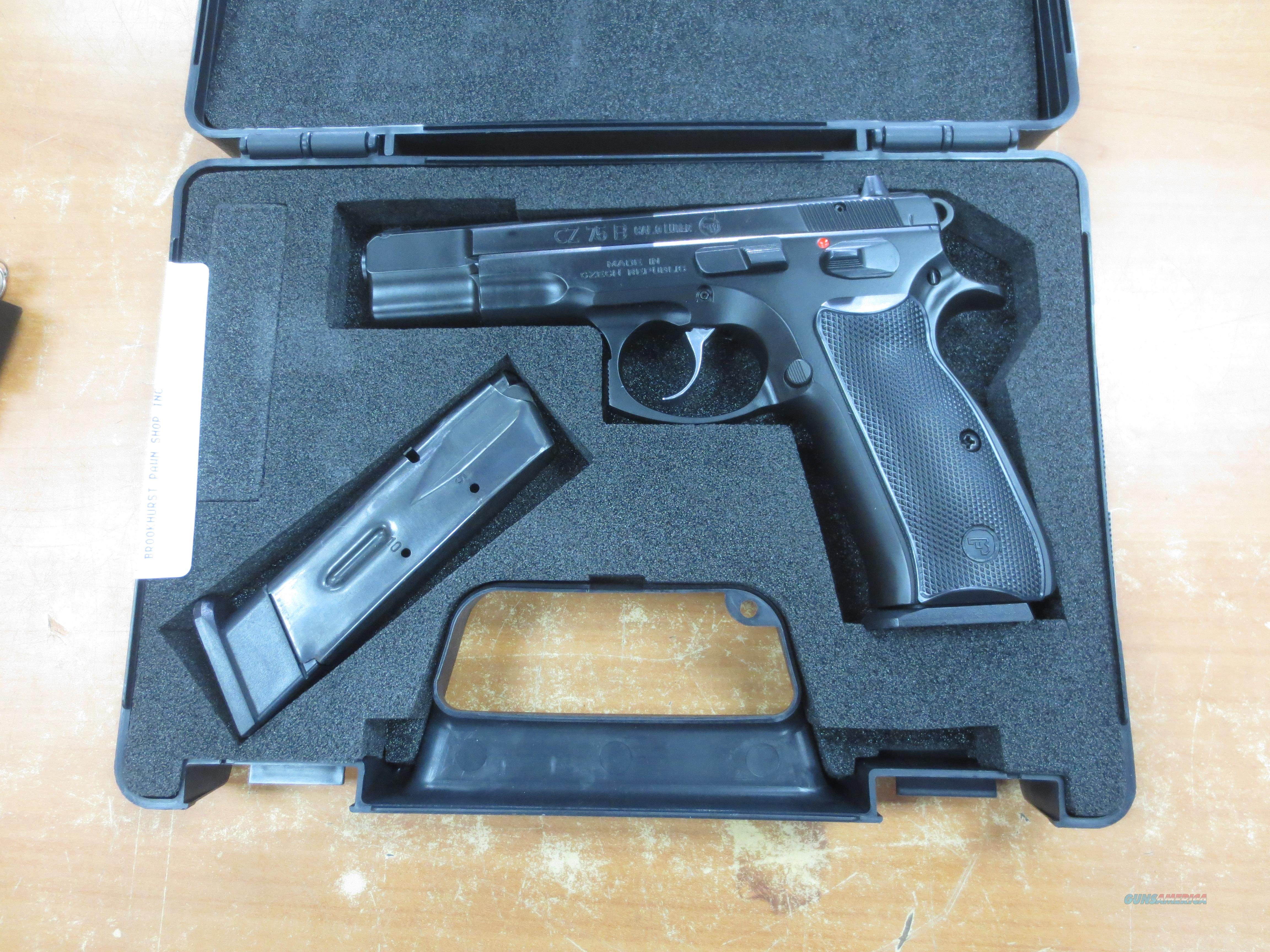CZ model CZ 75B 9mm with 2 mags CA OK!