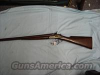 Colt 1878 SXS Wells Fargo & Co coach shotgun
