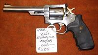 Ruger, Security Six stainless steel revolver, .357 Mag/.38 Spl, 6 inch barrel