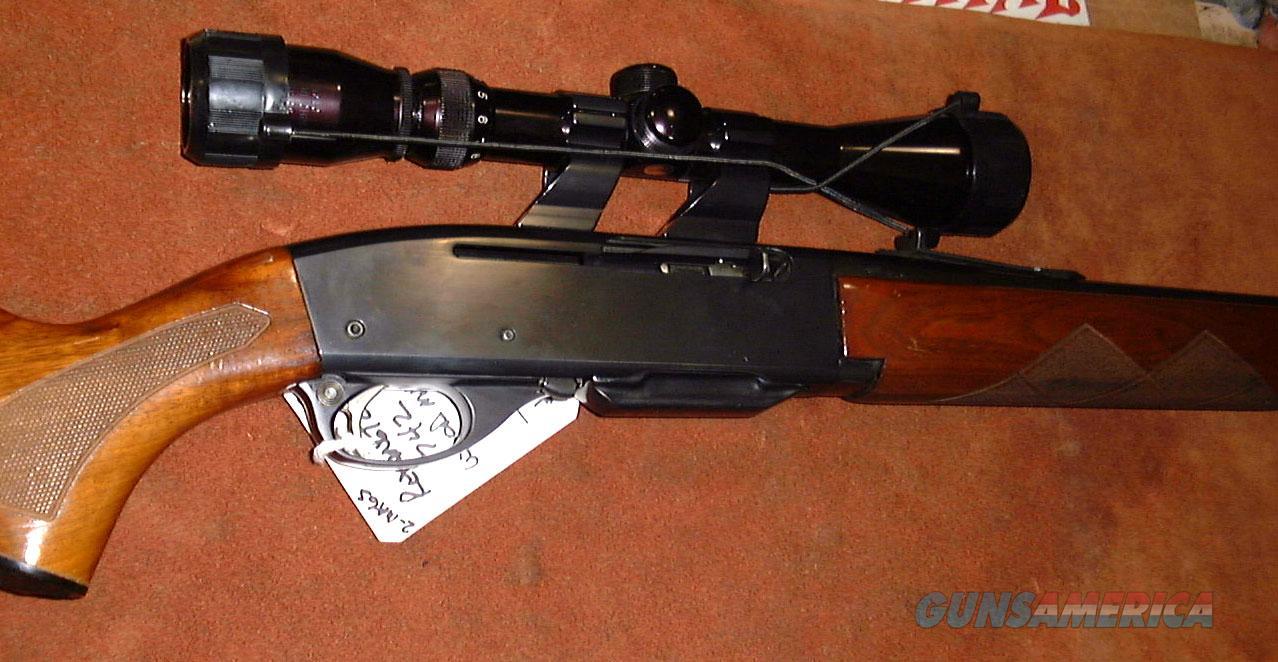 Remington, Model 742 Woodsmaster semi-auto rifle,  280 Rem