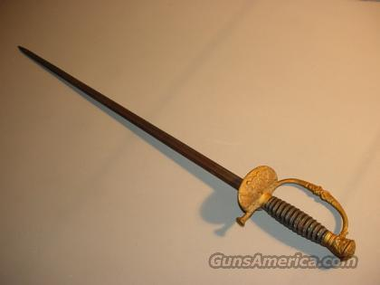 CIVIL WAR VETERANS GAR SWORD