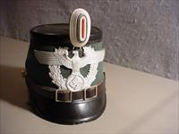 WW II Original German Police Shako - 1937