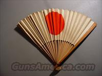 WW II Japanese Meatball Folding Fan / Flag