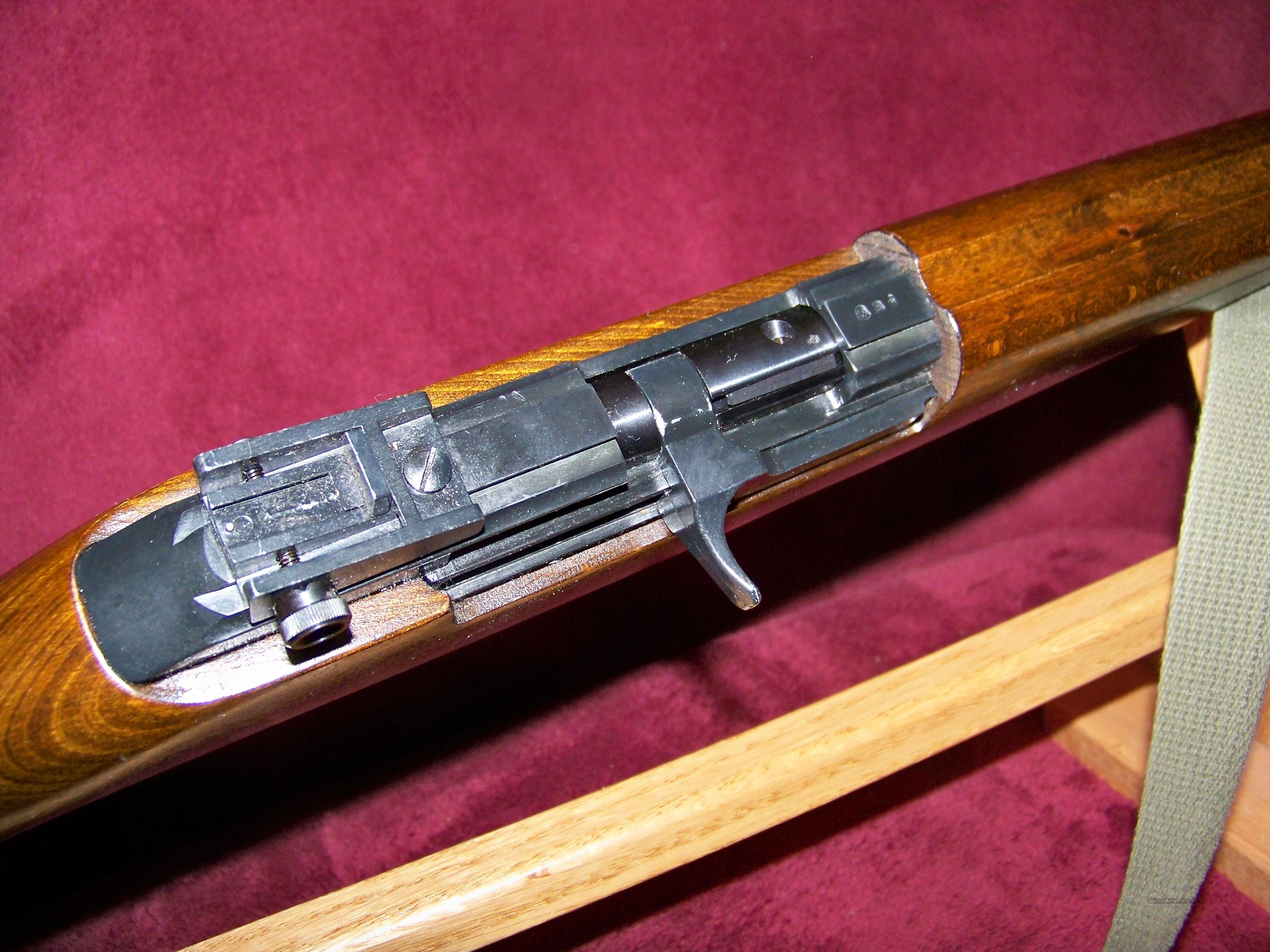 Sold model e m1 22 caliber erma werke germany