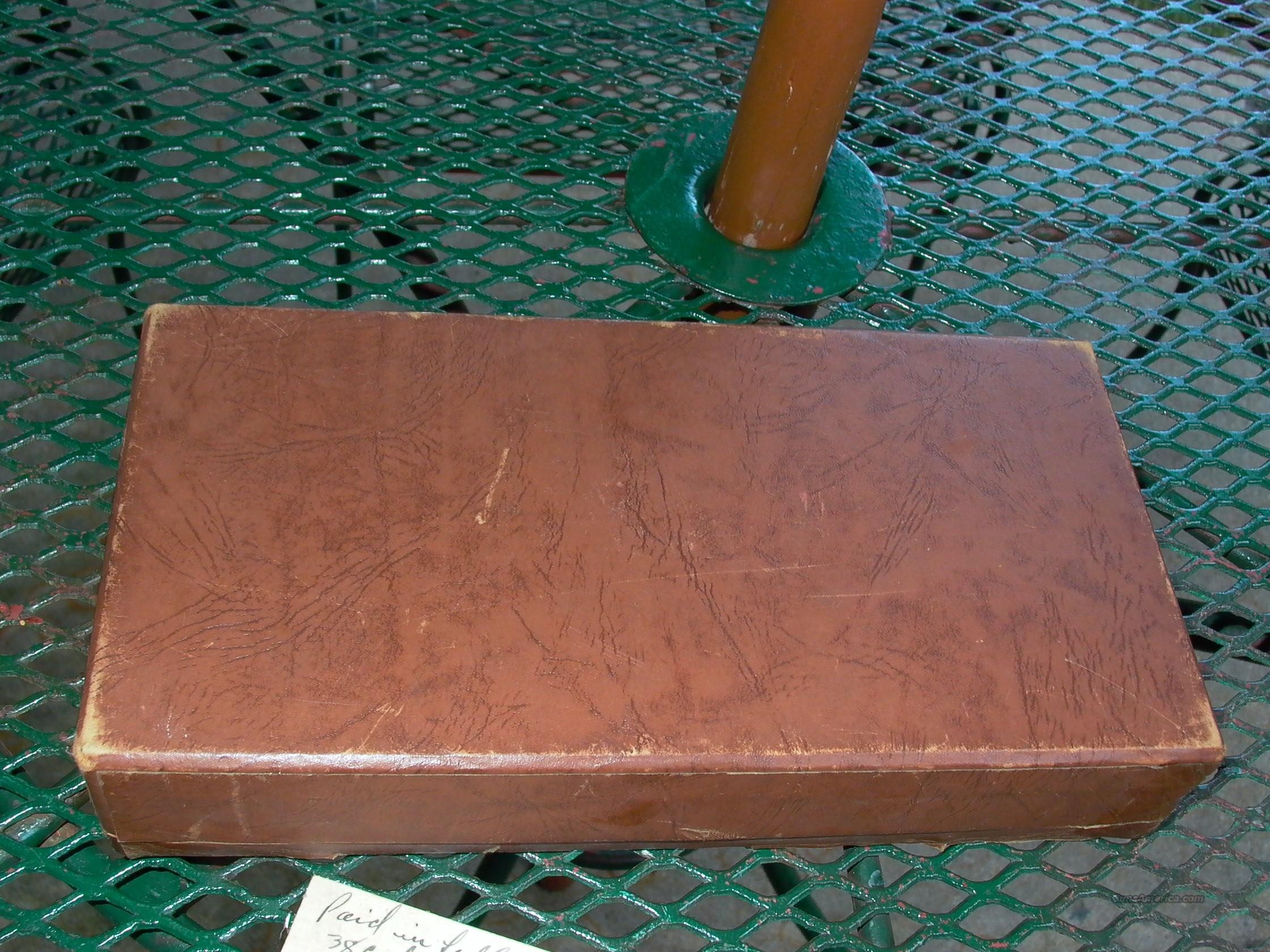 colt woodsman box brown very good for sale. Black Bedroom Furniture Sets. Home Design Ideas