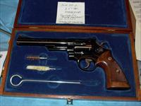 S&W 29-2  6.5inch Blued With S&W Presentation Wood Case S SERIAL NUMBER!