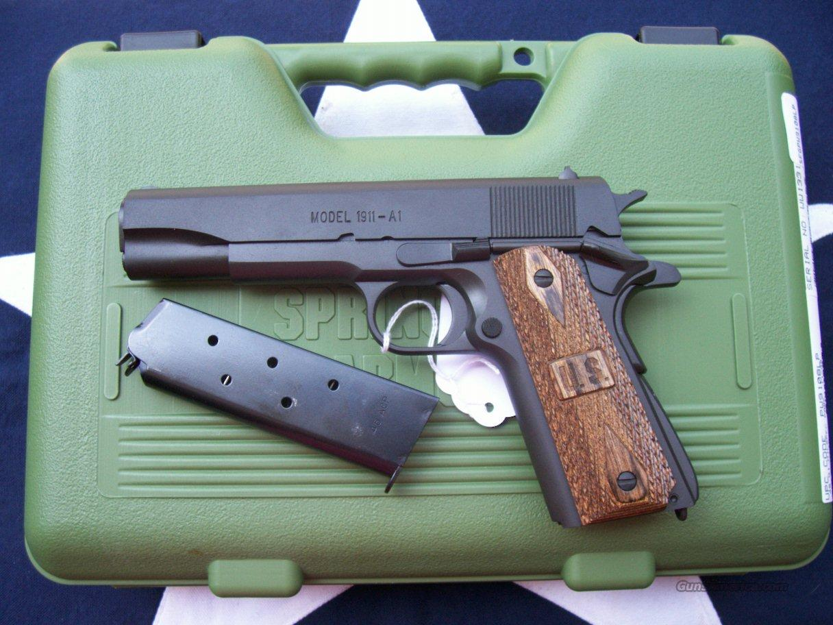 Pa Sales Tax >> Springfield Armory !911-A1 for sale