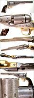 Colt Model 1861 Round Barrel Navy Factory Conversion