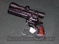 RUGER-GP100-WITH MOUNTED 2X6 SCOPE