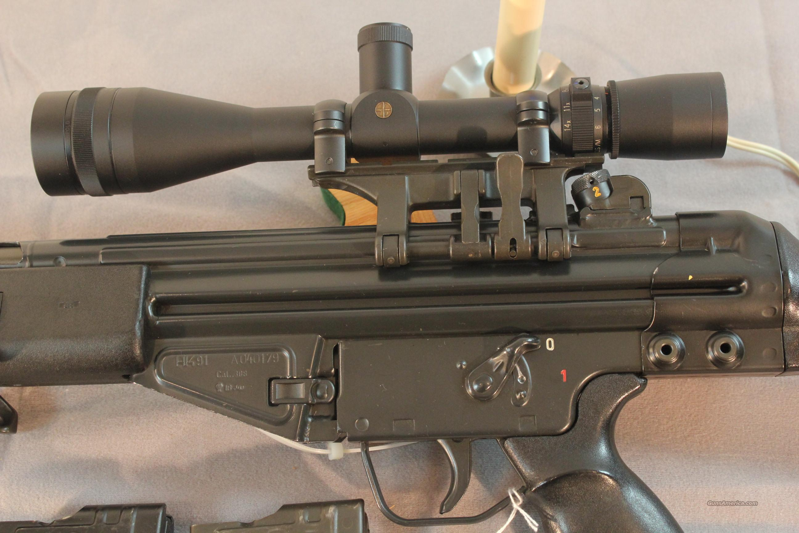 A1 Auto Sales >> HK Model 91 w/claw mount and 4.5-14x Leupold Ta... for sale