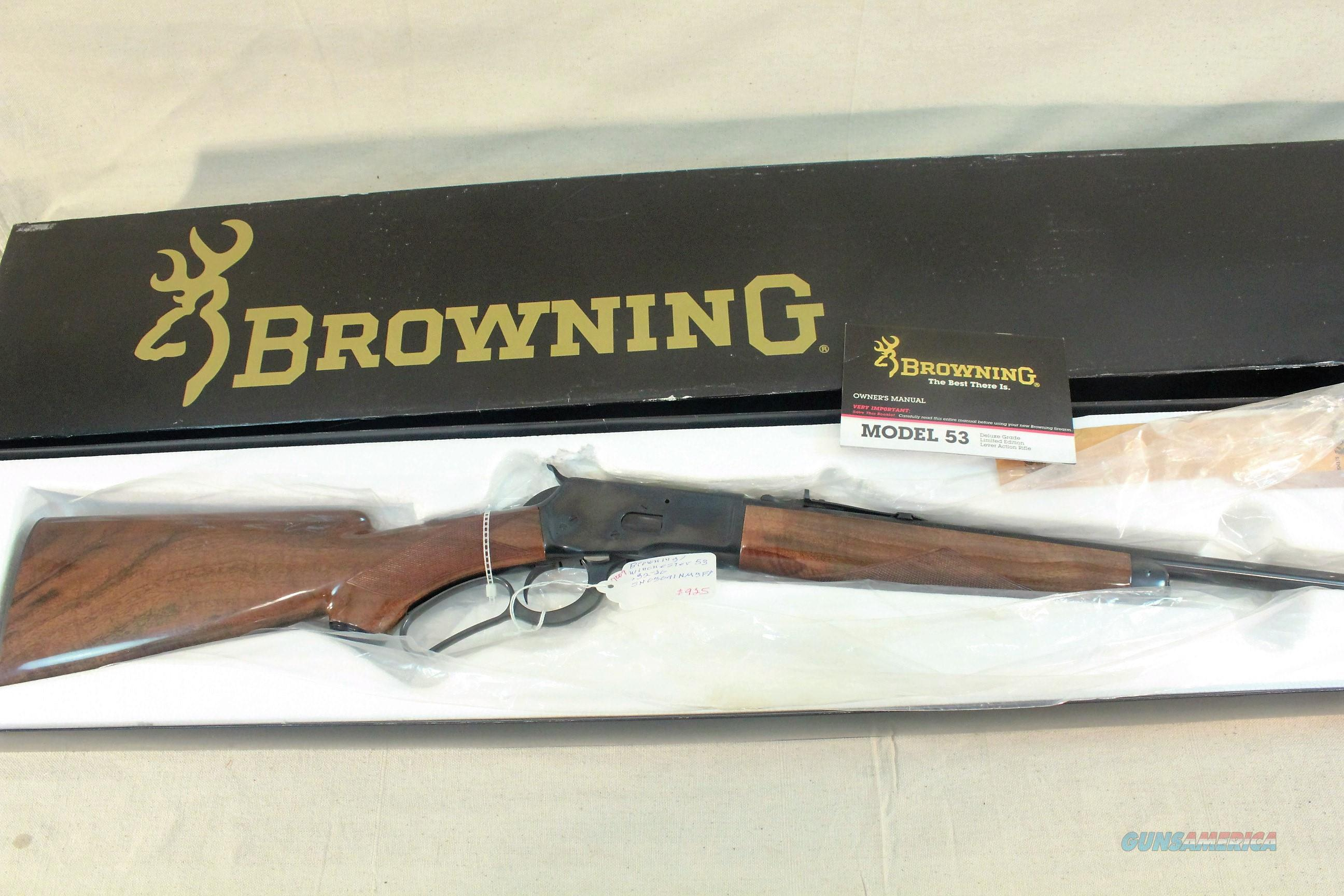 WRG-8538] Browning Bl 22 Lever Action Rifle Owners Parts